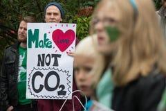 Miljö- aktivister Royaltyfria Bilder
