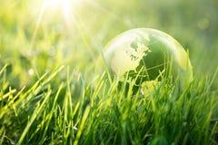 Miljö- begrepp för värld arkivbild