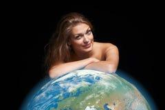 Miljö- ecobegrepp Royaltyfri Fotografi
