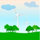 Miljö- framtid av planeten royaltyfri bild