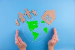 Miljö- grönt energibegrepp Fotografering för Bildbyråer
