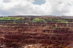 Miljö i coalmining Arkivbilder