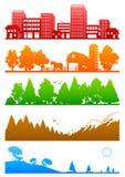 Miljöer Fotografering för Bildbyråer