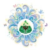 miljögreen Royaltyfri Bild