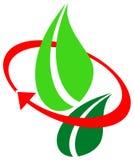 miljölogo vektor illustrationer