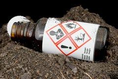 Miljömässigt farlig avfalls royaltyfria bilder