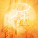 miljön för dagen för banerfjärilen blommar den celebratory gulliga nyckelpigaöversiktsvärlden Beståndsdelar av denna avbildar möb Fotografering för Bildbyråer