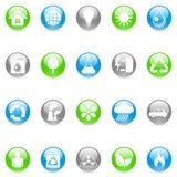 miljösymboler Fotografering för Bildbyråer