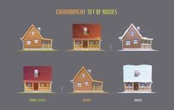 Miljövektorelemets för lek Arkivbilder