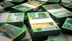 Miljard nyazeeländska dollar stock video