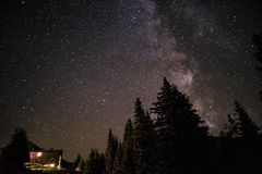 Miljard stjärnahotell Royaltyfri Foto