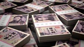 Miljard Yen Background arkivfilmer