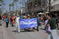 Miljoen Banner van de Marionettenparade Stock Afbeeldingen