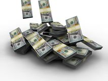 Miljoen dollar Royalty-vrije Stock Afbeeldingen