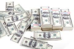 Miljoen dollar Stock Foto