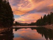Miljon behållare, nära South Fork, Colorado Fotografering för Bildbyråer