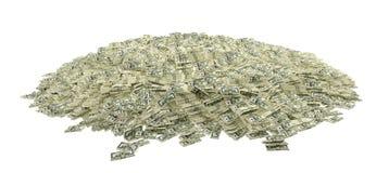Miljoner av dollar Arkivbild