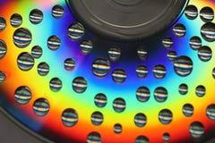 Miljoner av droppar arkivfoton