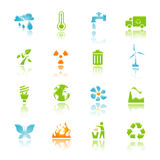 miljösymbol Royaltyfri Bild