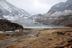 Milk湖yading的风景 免版税图库摄影