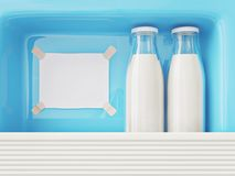 Milk Royalty Free Stock Photography