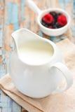 Milk. Stock Photos