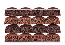 Milk aerated chocolate Royalty Free Stock Photography
