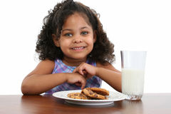 Free Milk And Cookies Stock Photography - 811282