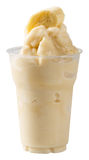 Milk Banana smoothie Stock Photography