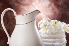 Milk bath Royalty Free Stock Photo