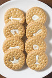 Milk biscuit Royalty Free Stock Photography