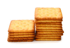 Milk Biscuit Isolated Royalty Free Stock Photography