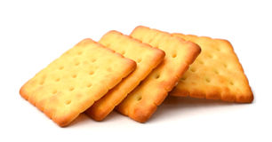 Milk Biscuit Isolated Stock Photography