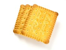 Milk biscuits Royalty Free Stock Photos