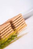 Milk biscuits Royalty Free Stock Images