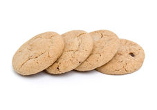 Milk biscuits Royalty Free Stock Image
