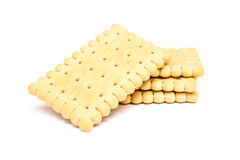 Milk Biscuits Isolated Stock Images