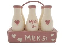 Milk bottle Royalty Free Stock Photos