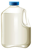 Milk bottle Royalty Free Stock Images