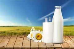 Milk Bottle Stock Photos
