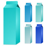 Milk box Stock Photography