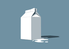 Milk box Stock Images