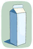 Milk box. Stock Images