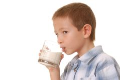 Milk Boy 3 Royalty Free Stock Photos