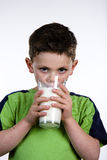 Milk Boy Stock Photo