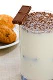 Milk for breakfast Royalty Free Stock Photos