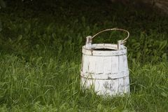 Milk bucket Royalty Free Stock Photos