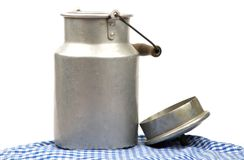 Milk can Royalty Free Stock Images