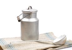 Milk can Stock Photography