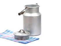 Milk can Royalty Free Stock Photography